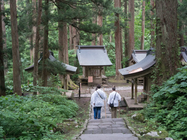 Yamabushi Guided Pilgrimage on Mt. Haguro of the Dewa Sanzan