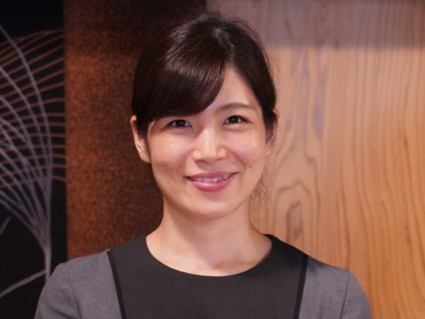 Yumi Sato of Dewaya in Nishikawa